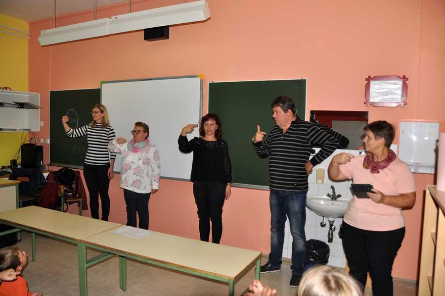 Predstavitev na osnovni šoli Fokovci