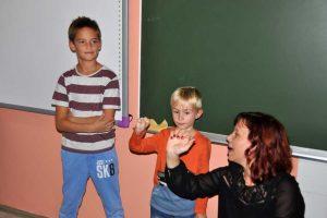 Predstavitev gluhote in naglusnosti v osnovni soli Fokovci 2017 - 018